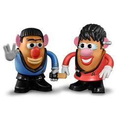 Spock & Uhura Mr. Potato Head