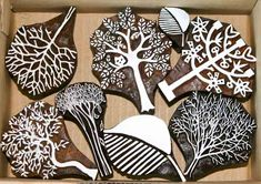 Trees & Leaves = £55 all inc. from Colouricious