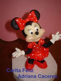 MINNIE MOUSE PORCELANA FRIA
