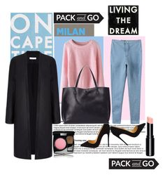 """Pack and go : Milan"" by amilasahbazovic ❤ liked on Polyvore featuring Palomar, Christian Louboutin, Chanel, Dot & Bo, Sole Society, women's clothing, women, female, woman and misses"