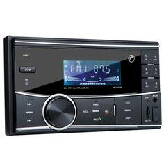 Autoestéreo HF Audio HF-125UB Doble Din 50wx4 Bluetooth/USB/SD