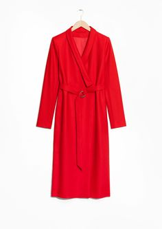 & Other Stories image 1 of Kimono Coat  in Red