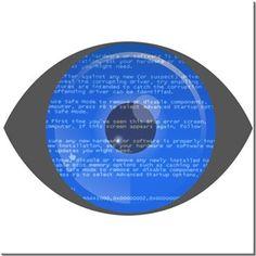 Mavi Ekran Kendin Tasarla - HDF Magnet 8x8cm
