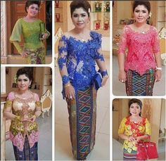 GROSIR BROKAT SANGKARA: Januari 2016 Kebaya Lace, Kebaya Brokat, Dress Brokat, Kebaya Dress, Batik Kebaya, Batik Dress, I Dress, Lace Dress, Modern Kebaya