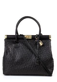 Latina Embellished Handbag - Black