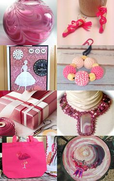 Pretty in Pink by Susan Green on Etsy--Pinned with TreasuryPin.com