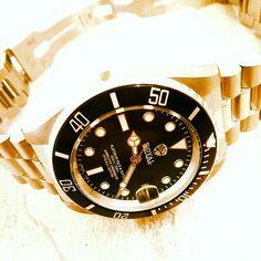Rolex watch upgraded by Royal Custom Timepieces http://www.royal-custom.com