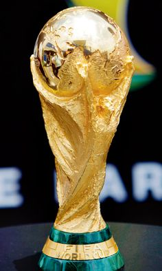 The trophy's replica, made out of rice-pudding, is already a hit with the football crazy people of Kolkata World Cup 2018, Fifa World Cup, Neymar, Messi, Argentina Football Team, Soccer Academy, World Cup Trophy, Nike Football Boots, African Print Shirt
