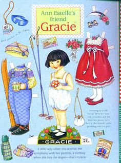 Gracie Paper Doll.This From baddubyah - MaryAnn - Picasa Web Albums