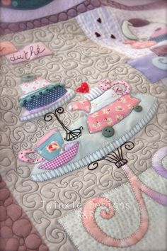 "TWINKLE PATCHWORK: "" Sweet Mystery Quilt "" Twinkle Designs R&R"