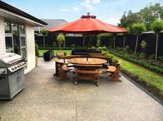 Avid entertainers may want to customise their outdoor area with features such as barbecues, and outdoor seating. Outdoor Seating, Outdoor Decor, Barbecues, New Builds, Garden Landscaping, Landscape Design, New Homes, Gardens, Design Inspiration