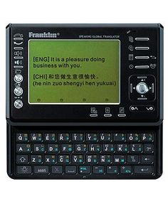 Franklin 12-language (Speaking) Global Translator