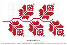 Semne Cusute: povestea lui Navalnic Cross Stitch Borders, Modern Cross Stitch Patterns, Cross Stitch Flowers, Cross Stitching, Embroidery Sampler, Folk Embroidery, Cross Stitch Embroidery, Embroidery Patterns, Fair Isle Knitting Patterns