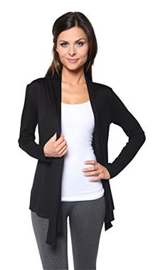 44e1076ed9 New Free to Live Women s Cardigan - Light Weight Sweater with Open Front  online.