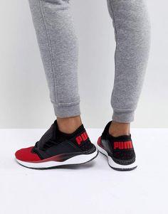 Puma Tsugi Shinsei Sneaker in Red and Black