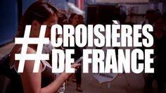 Julia Chou embarque sur Croisières de France.