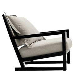 Maxalto Clio Armchair - Furniture File Ltd Welded Furniture, Iron Furniture, Steel Furniture, Sofa Furniture, Sofa Chair, Industrial Furniture, Furniture Design, Outdoor Furniture, Furniture Stores