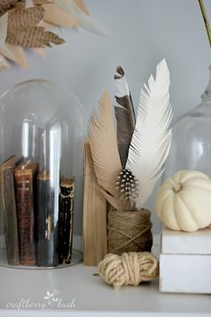 Craftberry Bush: Eclectically Fall Home Tour  Oh! How I love this look