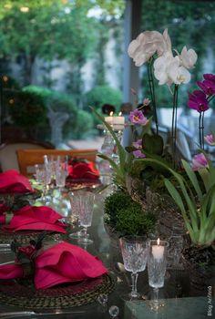 jantar | Anfitriã como receber em casa, receber, decoração, festas, decoração de sala, mesas decoradas, enxoval, nosso filhos
