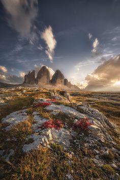 Three Peaks__Italy by Mattia Dattaro on 500px