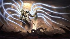 Diablo 3 Reaper of Souls Archangel Tyrael Wallpaper