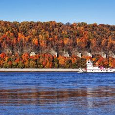 Welcome to Alton, Grafton, Godfrey, Jersey & Calhoun County, Illinois | Trip Ideas - Midweek Color Cruising