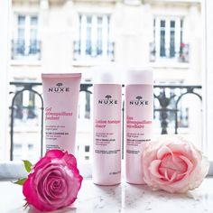 Gamme aux Pétales de Rose #NUXE #Beauty #Roses #Pink