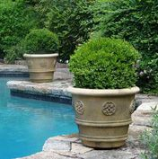Lovely and earthy for around the pool area.