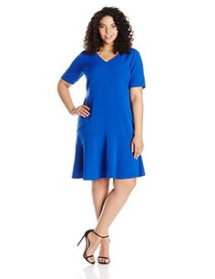 London Times Womens Big Cross Shoulder with Elbow Sleeve Dress Sea 20 >>> Continue to the product at the image link.