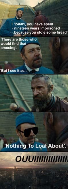 Jean Valjean kneads a break…