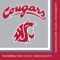 Washington State Cougars Lunch Napkins 20Count * Want additional info? Click on the image(It is Amazon affiliate link). #FootballPassion