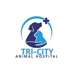 Create a memorable logo for a veterinary practice Clinic Logo, Pet Clinic, Logos Online, Hospital Design, Clinic Design, Cat Dog, Dog Logo, Animal Logo, Custom Logo Design