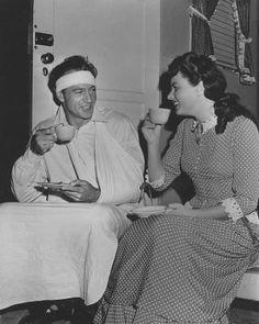 Gary Cooper with Ingrid Bergman