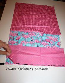 Orelane: Mon tuto de sac facile pour débutante ou nulle en couture (ou les 2 !)