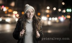 Street photography of a girl in Leicester city centre.  FB: /peter.alvey.photographer