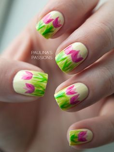 Try a number of nail art items to identify which are better for you. Nail art is a critical portion of a manicure regimen. If you're using any form of nail art on your nails, you must take even greater… Continue Reading → Nail Art Designs, Easter Nail Designs, Easter Nail Art, Flower Nail Designs, Nails Design, Tulip Nails, Rose Nails, Flower Nails, Daisy Nails