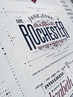 sign me up for this cute wedding-style typographic matchmaking poster!