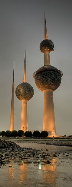Kuwait Towers, Kuwait City