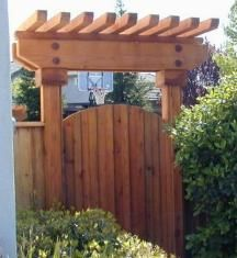 how to move a shed over a fence