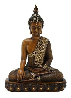 "Amazon.com - 15"" Buddha Earth Touching Mudra Statue - Collectible Figurines"