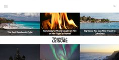 Travel + Leisure | The Webby Awards