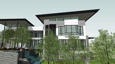MODERN BUNGALOW - 3D Warehouse