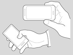 Hands holding a mobile phone technical illustration, hand illustration, tec Hand Holding Phone, Holding Hands, New Iphone, Iphone Cases, Phone Stickers, Healthy People 2020 Goals, Phone Backgrounds, Phone Wallpapers, Phone Photography