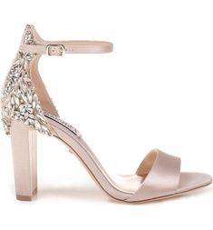 de28e4da311 Main Image - Badgley Mischka Seina Ankle Strap Sandal (Women)