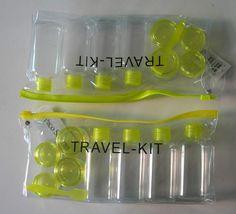 Travel Kit, Plastic Bottle, Cream Jar Travel Bottles, China Travel, Travel Kits, Plastic Bottles, Traveling, Packing, Jar, Good Things, Cream