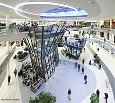 Shopping Center Milaneo, Stuttgart, 2013 - TBI