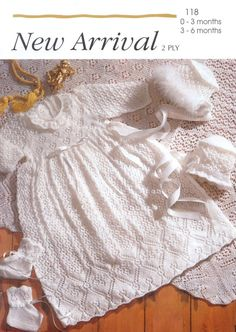 Vintage PDF Knitting Baby Patterns New A 1183 by 1vintagescot, $1.75