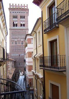 Torre del Salvador. Mudéjar de Teruel. Patrimonio de la Humanidad.