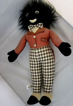 Golliwog Golliwogg Embrace Rag Doll with Tags Handmade #Golliwogg    $89.50 or make me an offer. Free Shipping