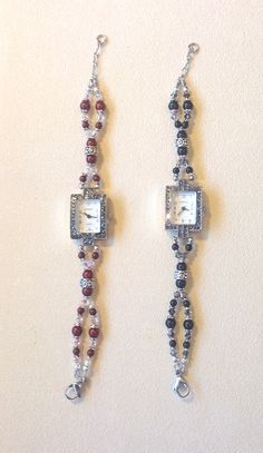 Swarovski Pearls & Crystals beaded watches